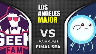 Geek Fam vs IO Mushi - SEA Final ESL One Los Angeles Major 2020 Highlights Dota 2