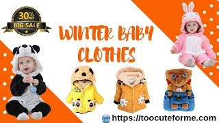 Stylish Baby Winter Fashion Outfits Collection | Free Delivery | TooCuteForME