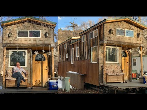 Single Mother & Two Young Children Live In Gorgeous Tiny Home & Want For Nothing