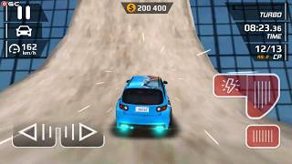 "Smash Car Hit - Blue Wave Car"" Speed Car Games - Android gameplay FHD #8"