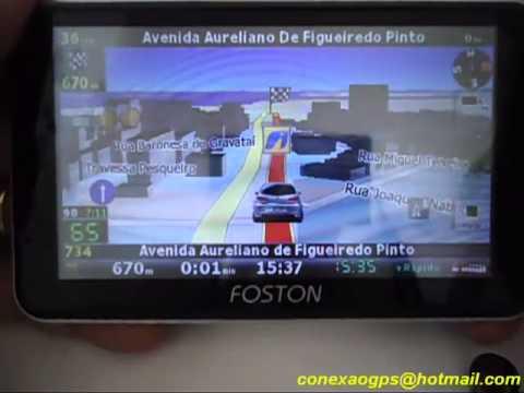Atualização Gps 2015 Foston iGO8. iGO Primo e iGO Amigo com 4 mapas do Brasil e radares atualizados