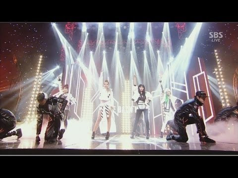 2ne1-'come Back Home' 0323 Sbs Inkigayo video
