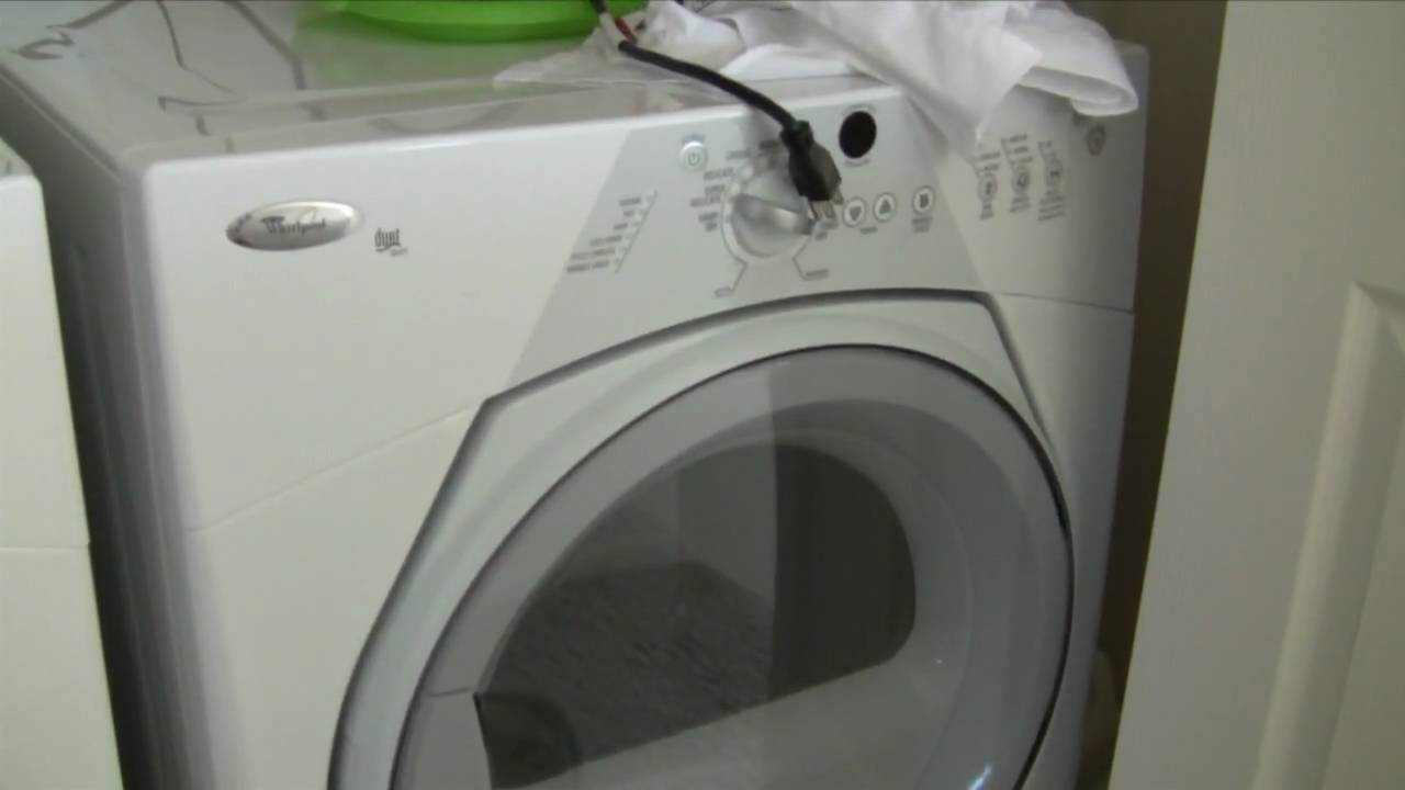 Whirlpool Duet Sport Washer Will Not Drain Youtube