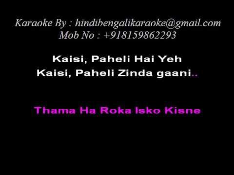 Kaisi Paheli Zindagani Parineeta - Karaoke - Parineeta (2005) - Sunidhi Chauhan