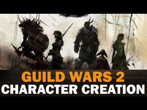 Guild Wars 2 Beta - Full Character Creation - Charr, Human & Norn!