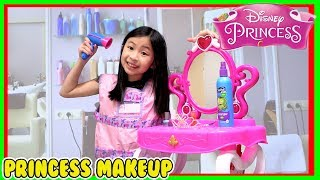 Chloe Pretend Play PRINCESS Dress Up with Makeup Toys