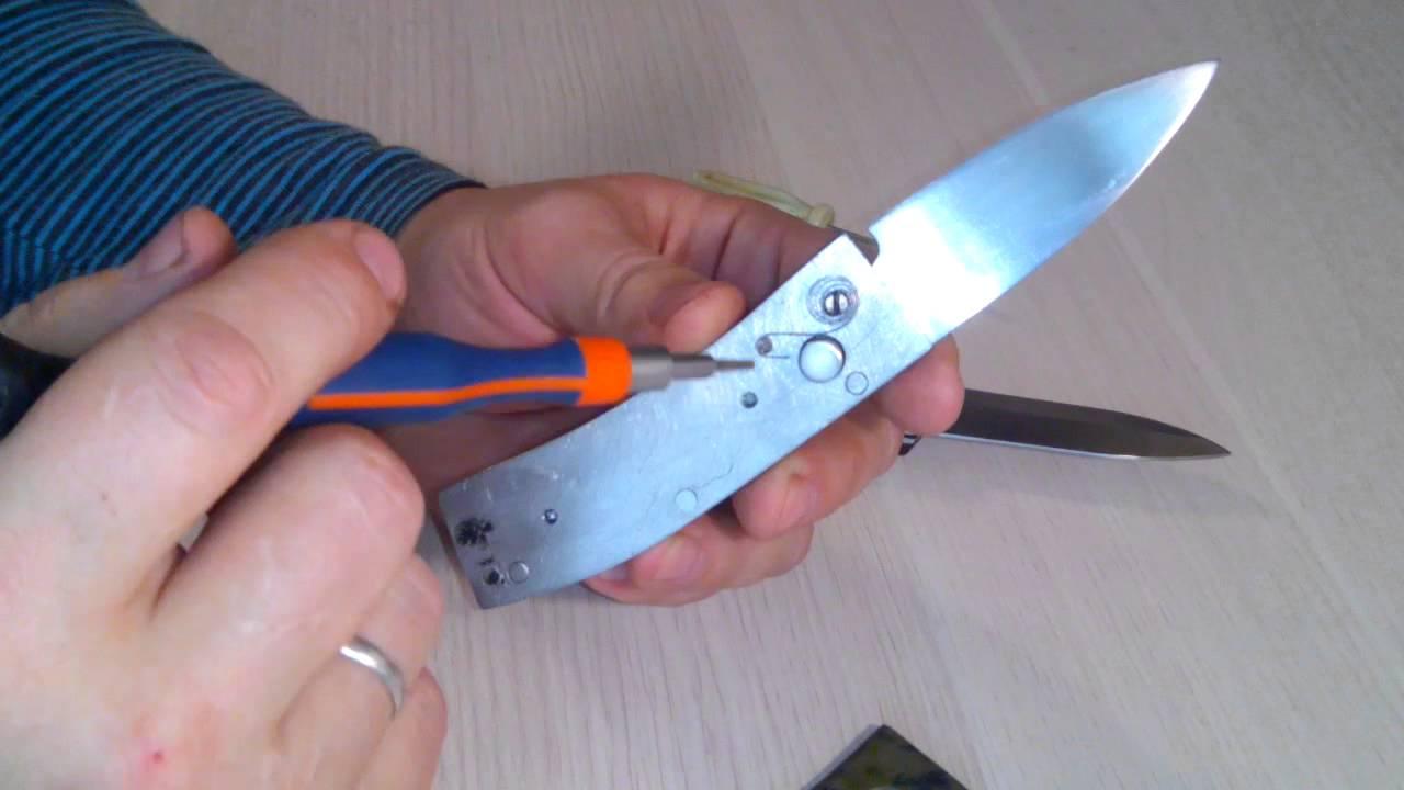 Выкидные ножи сделать своими руками 21