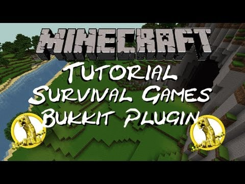 Minecraft Bukkit Tutorial | Survival Games Plugin [1.7.2 & 1.7.4 - Both are
