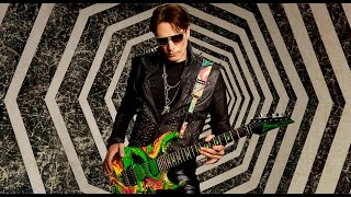 Steve Vai - 新シグネチャーモデル「DiMarzio Dark Matter 2」とギターストラップの紹介&試奏映像を公開 thm Music info Clip
