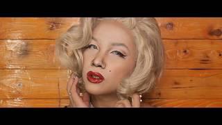 Keiv Torres - Marilyn Monroe Makeup Transformation