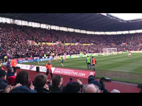 Stoke City v Arsenal (1-0) 01/03/2014 - Walters Penalty