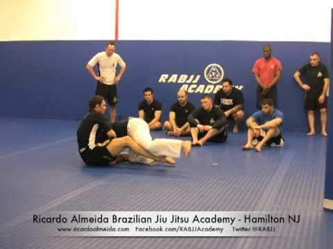 Guillotine: Crucifix Set Up  Ricardo Almeida BJJ MMA - Hamilton NJ Image 1