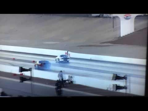 MMR vs Accufab 10.5 Outlaw  - Mark Luton VS John Mihovitz Street Car Super Nationals X