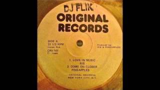 Pineapples - Come On Closer (Original Records Version) 1988