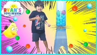 GIANT KerPlunk Games for Kids with Angry Birds Egg Surprise