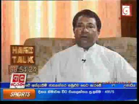 01/06/2011 - Hard Talk with S. B. Dissanayake