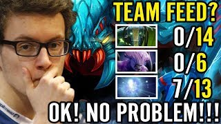 1vs9 Again by Miracle Dota 2 TEAM FEED - Not problem! Weaver Pro Carry Gameplay
