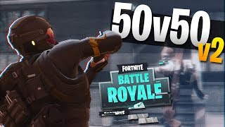 BACK TO BACK 24 KILL WINS! 50v50 v2 Gameplay (Fortnite Battle Royale)