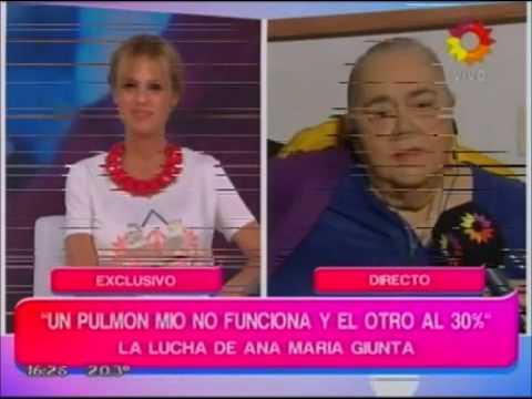 Ana María Giunta: una salud marcada por la obesidad