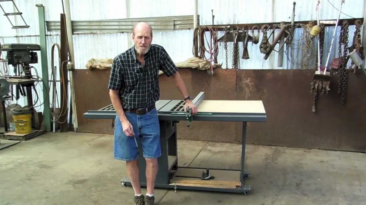 1 Of 5 How To Make Your Own Table Saw Fence Guide Rails