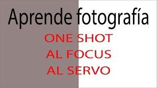 Aprende fotografía  Modos Autofoco y áreas de enfoque