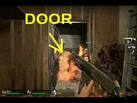 Left 4 Dead Tank in Safe Room FAIL