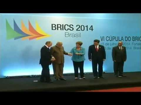 PM Modi with other BRICS Leaders at Ceara Events Centre, Fortaleza, Brazil