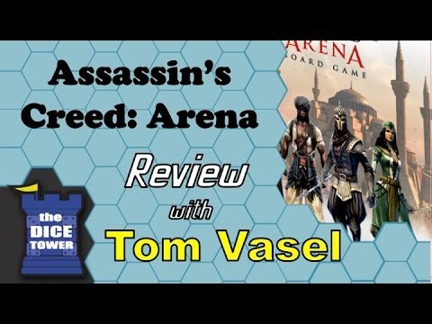 Assassin's Creed Arena Review - with Tom Vasel