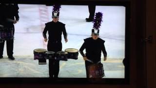 MARCHING BAND ON ICE (God bless Minnesota State University, Mankato)