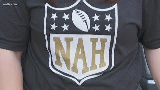 The Who Dat Nation won Super Bowl Sunday