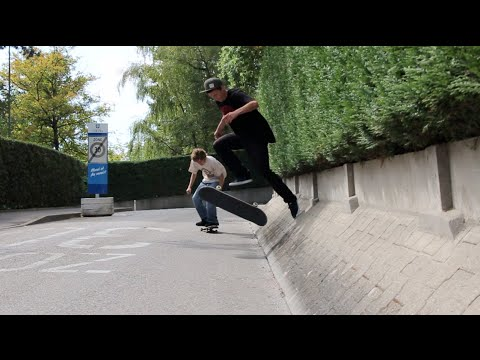 Skateboarding is Fun! Jonny Giger & Alexander Rademaker