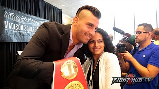 David Lemieux says he will test & teach Golovkin new things, talks how fight was made