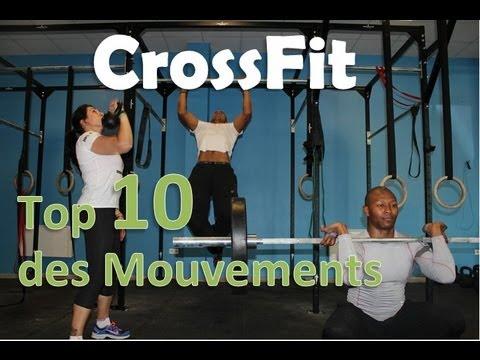 CrossFit : 10 Mouvements de Base - YouTube