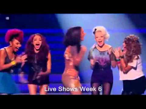 X Factor Winners Little Mix Celebrations Week by Week