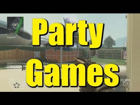 Party Games with Fick - Gun Game Action! [Call of Duty: Black Ops 2]
