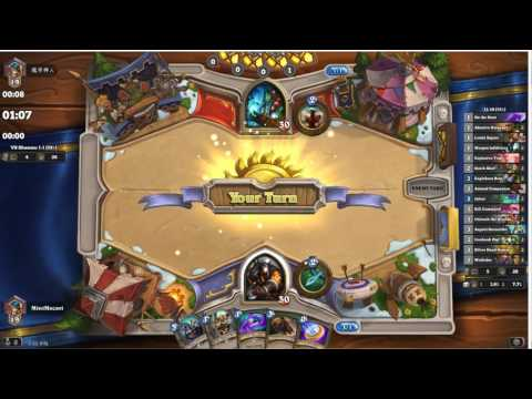 1-1, Probably will go back to C'Thun - Ranked Standard Face Hunter 2016May 21 [Hearthstone]