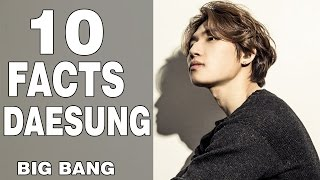 TOP 10 FACTS about DAESUNG [BIG BANG] Everything about Daesung