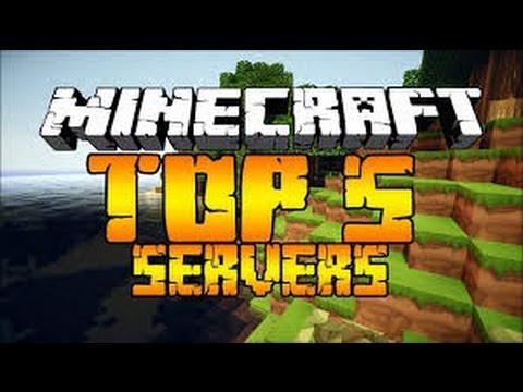 MasterERB - Tops 5 Mejores Server De Minecraft Nuevo :O :D 1.8 [No premium] - Primer Tops server :D