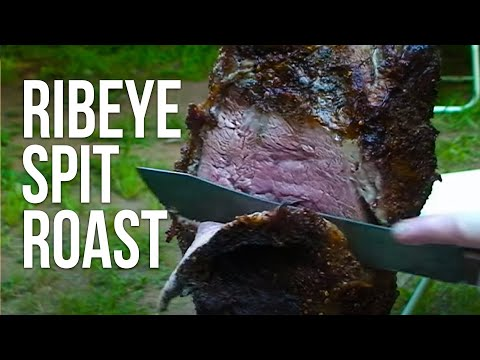 Prime Rib Beef Roast recipe by the BBQ Pit Boys