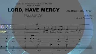 LORD, HAVE MERCY (J.S. Bach) ALT-partij - E.F.Re Music 2016