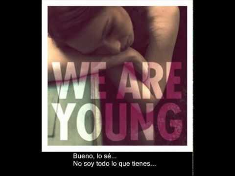 Fun Ft Janelle Monae We Are Young Español video