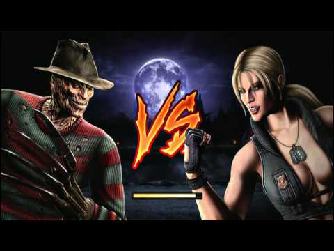 Mortal Kombat (2011) Freddy Krueger Playthrough part 1/2