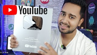 Youtube Silver Play Button | Youtube Reward | Youtube Sent Me A Surprise Gift