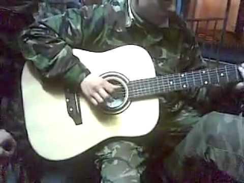 Военные, армейские песни - Ветер в дуле воет