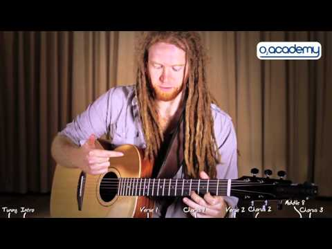 Newton Faulkner: Guitar Tutorial &#039;Clouds&#039;