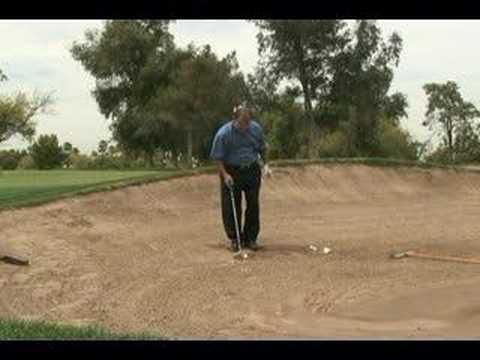 Hitting Out of a Greenside Bunker