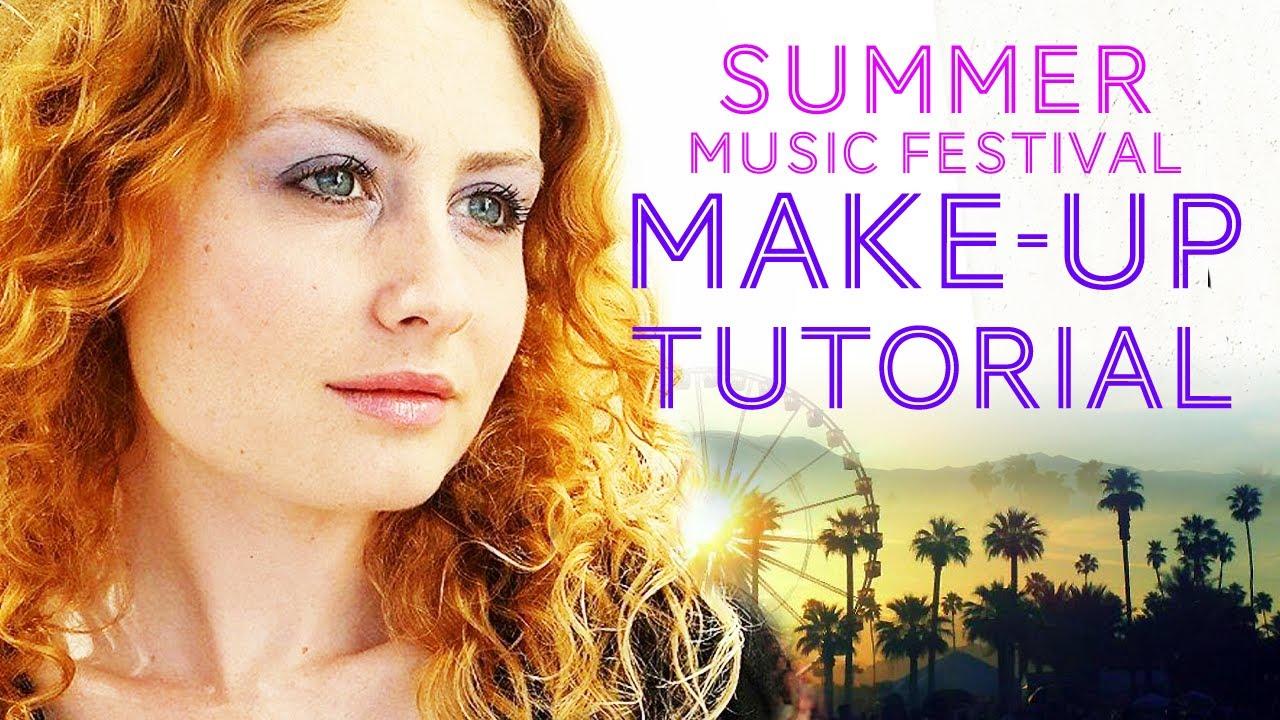 summer make up tutorial mel judson youtube. Black Bedroom Furniture Sets. Home Design Ideas