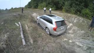 Volvo XC90 2016 OFFROAD test drive 2