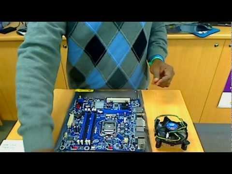 Установка Intel i5 на материнку Intel - Видео