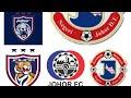 Logo-logo JDT dari dulu hingga kini thumbnail